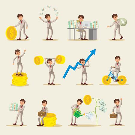Bedrijfsbeleggingspersonen instellen