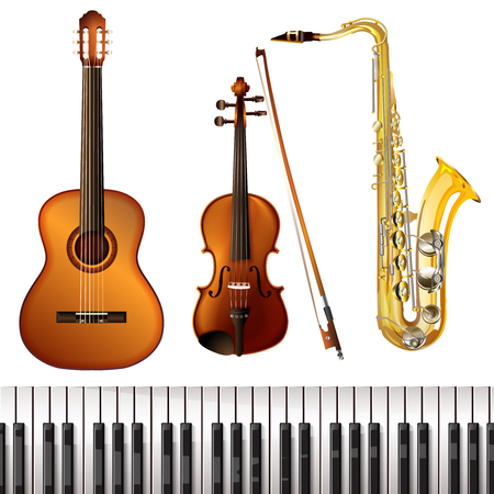 Realistic Musical Instruments Collection