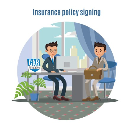 Car Insurance Service Concept