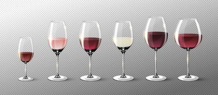 現実的な完全なグラス コレクション