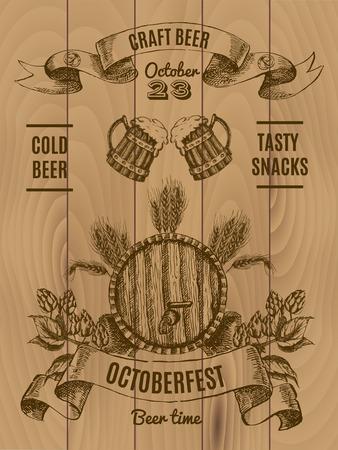 Octoberfest Vintage Poster