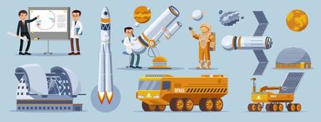 Space exploration elements collection