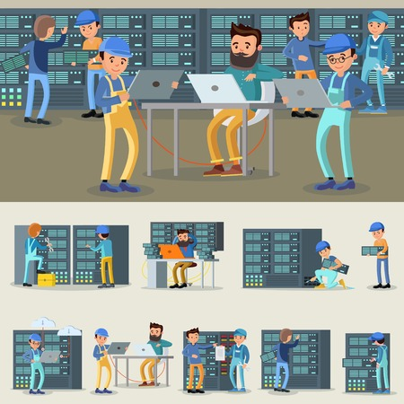 Datacenter Professional Workers Collection