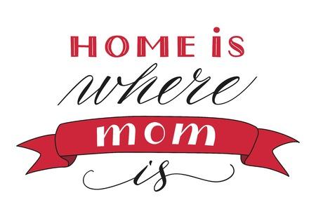 Happy Mothers Day Greeting Concept vector illustration. Иллюстрация