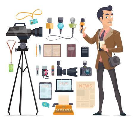 Journalism Elements Set
