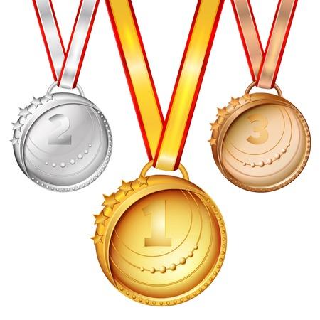 Sports Medals Set
