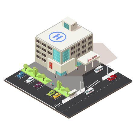 等尺性病院建物コンセプト