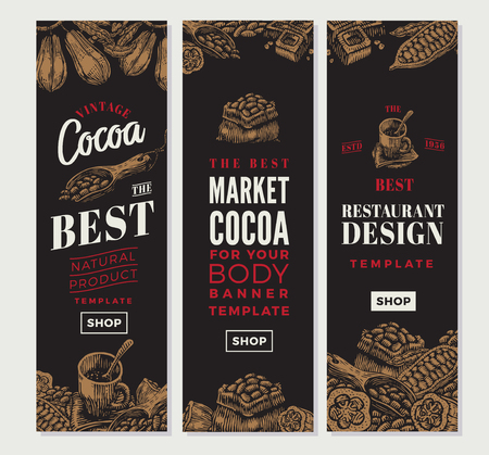 Cocoa Vertical Banners