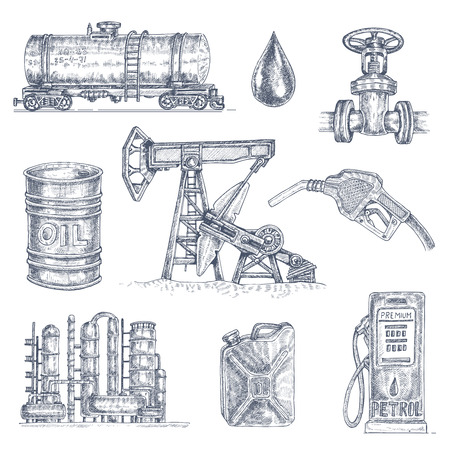 石油業界の描画アイコンを設定