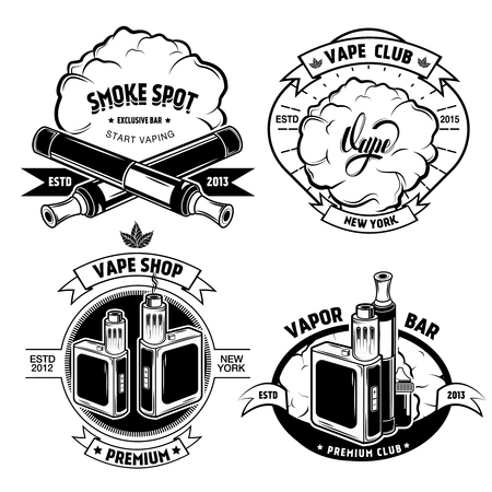 Vape Badge Set