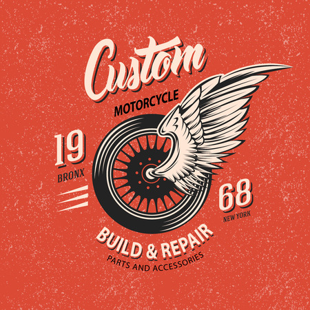Motorcycle Club Emblem