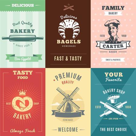 Vintage Bakery Posters