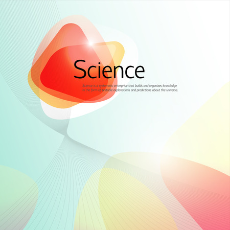 Science Abstract Background Reklamní fotografie - 82736418