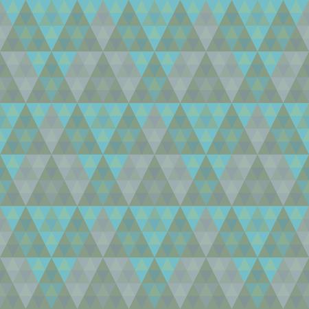 Seamlesss Pyramid Pattern Illustration