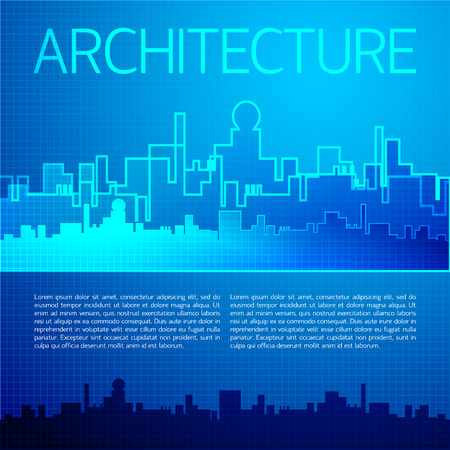 Architectural City Background