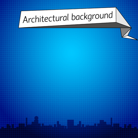 Architectural Blue Background