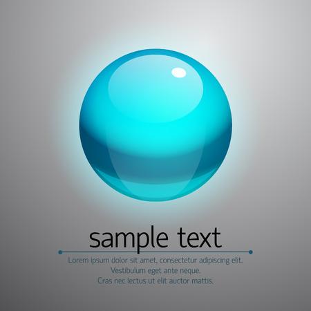 Vector Realistic Bubble Ilustrace