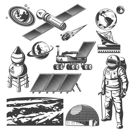 Vintage Space Elements Collection