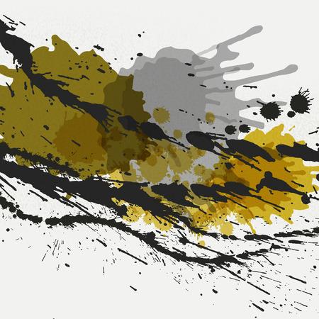 Abstract Splash Background Illustration