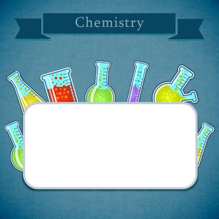 Chemistry Concept Illustration Stock Vector - 82893371