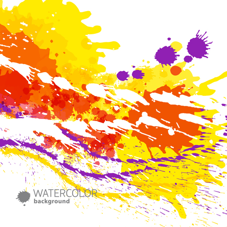 Abstract Paint Background Illustration