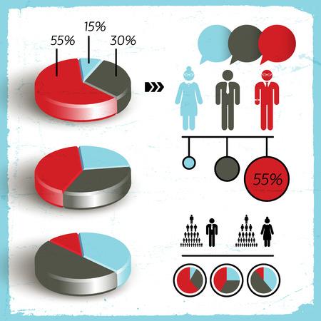 Business Diagram Set