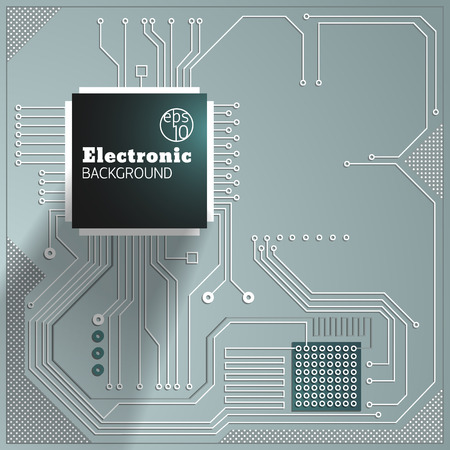 Eelectric board background Illustration