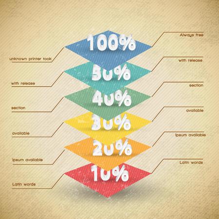 Diagram Design Illustration 向量圖像