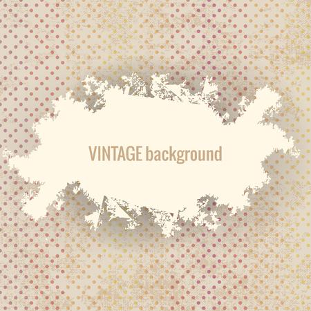 Vintage Background Illustration Illustration