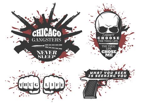 シカゴ ギャング引用符セット