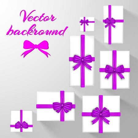 Festive Greeting Cards Template Illustration