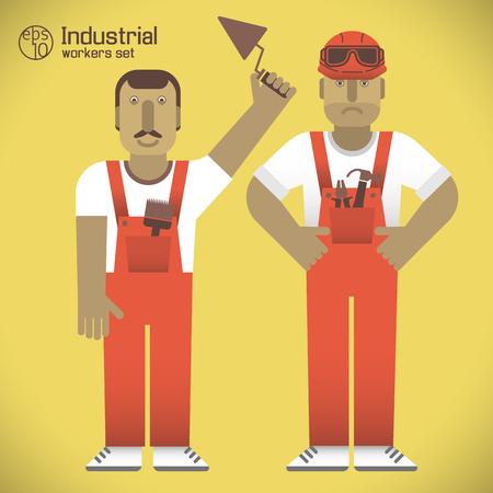 Industrial Workers Set