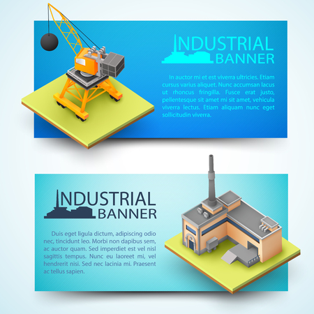 Building Equipment And Factory Banners