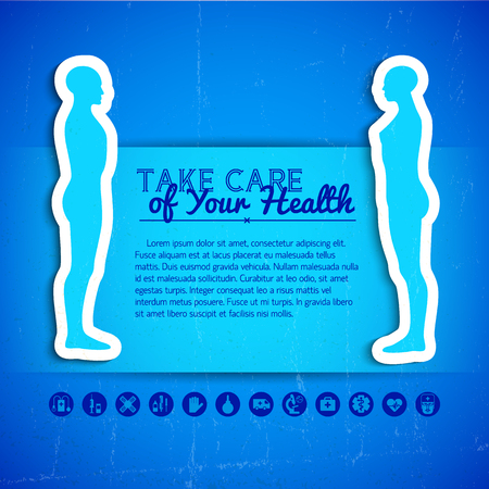 Medical Concept Background Çizim