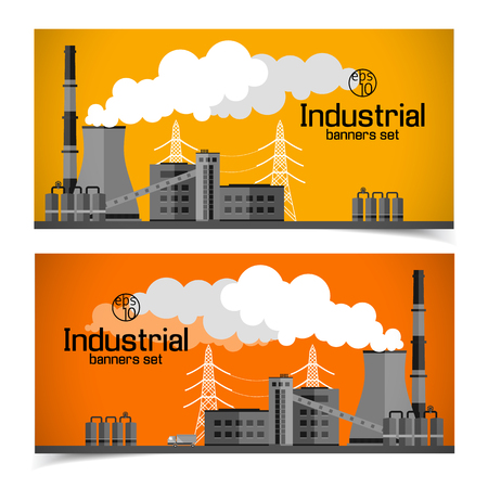 Industrial Manufacturing Horizontal Banners