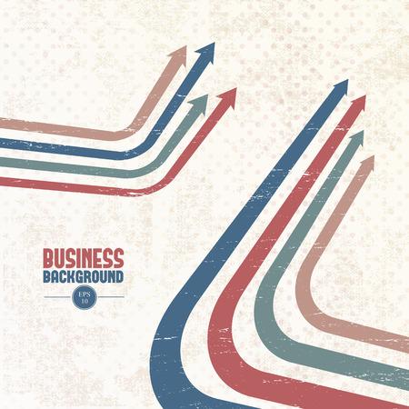 Flat business pattern. Çizim