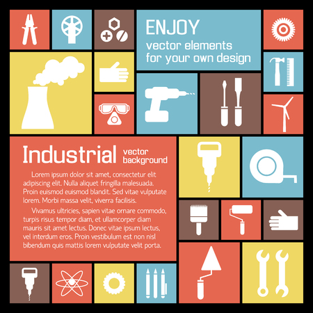 Industrial Tools Background