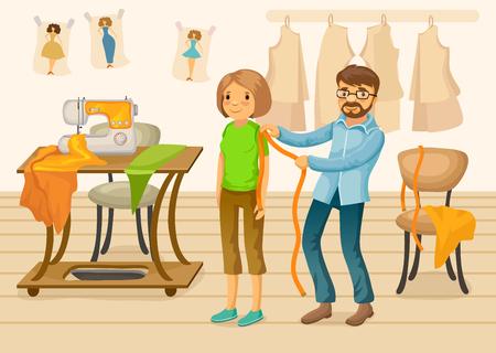 Colorful Tailor Shop Template
