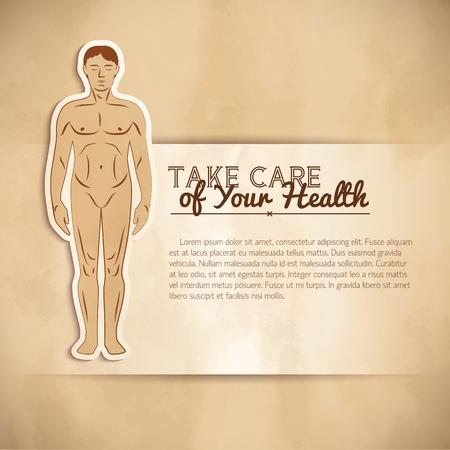 Menselijk medisch concept