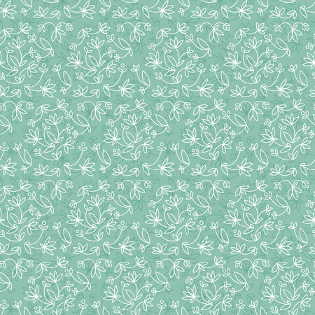 Vintage Natural Seamless Pattern 向量圖像