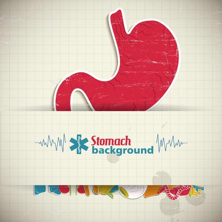 Human organs icon.