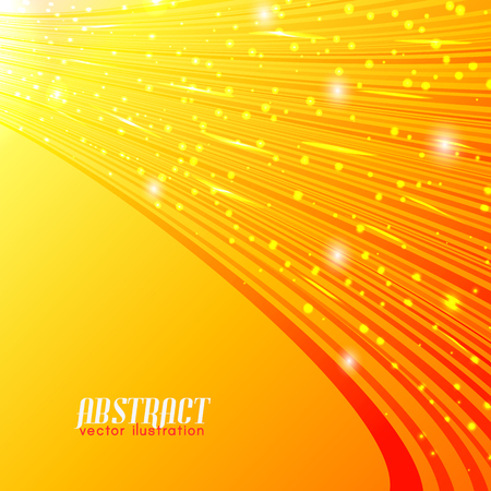 Abstract Shiny Background Illustration