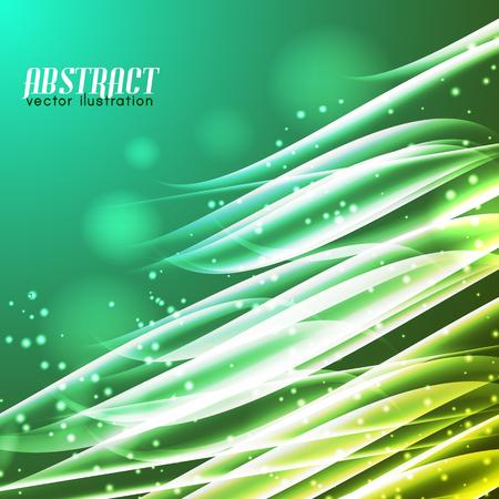 Shiny Abstract Futuristic Background Illustration