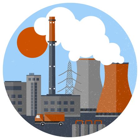 산업 공장 템플릿입니다.