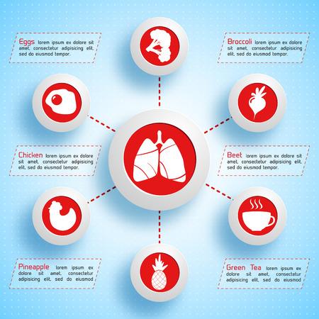Healthy Lifestyle Infographics
