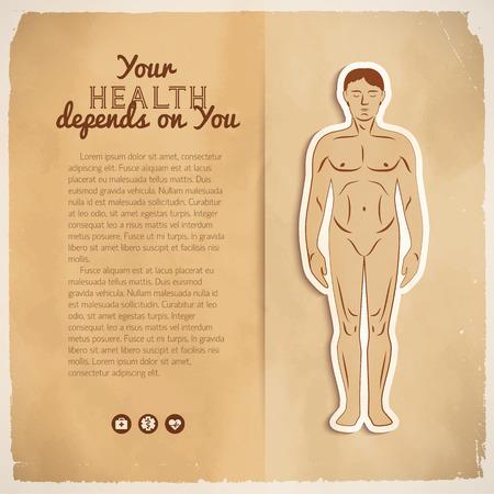 Gezondheidszorg concept vectorillustratie.