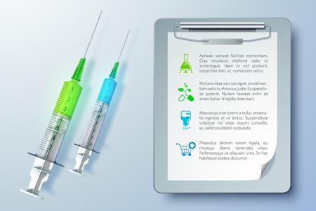 健康医療機器のテンプレート
