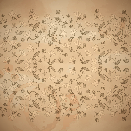 Flowery Floral Seamless Pattern
