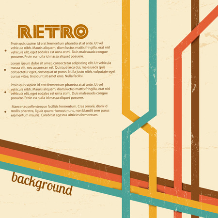 Abstract Retro Background vector illustration.