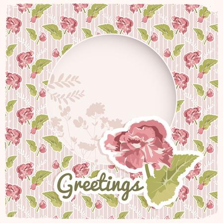 Vintage Festive Celebrating Background vector illustration.
